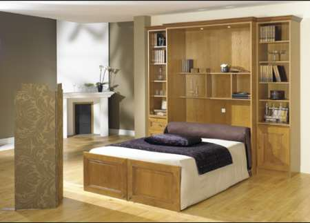 armoire lit basic massif armoire lit diffusion sp cialiste du lit escamotable. Black Bedroom Furniture Sets. Home Design Ideas